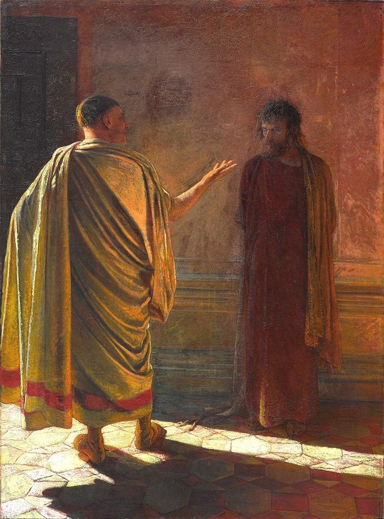 Христос и Пилат («Что есть истина(вопрос)»). 1890