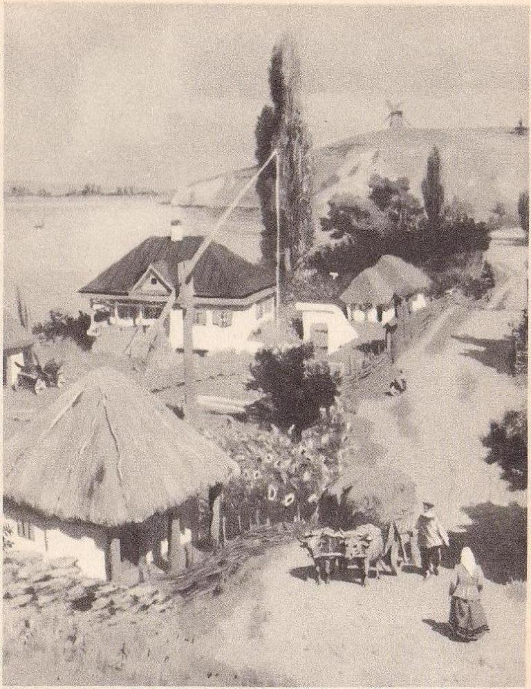 Хутор Татарский. 1950-е