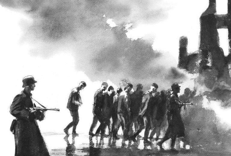 Иллюстрация к рассказу «Судьба человека»