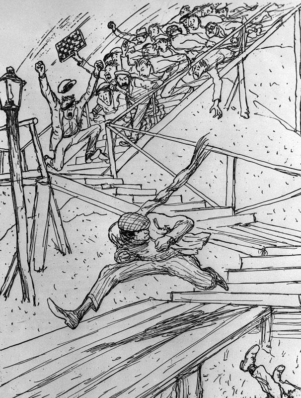 Иллюстрация к роману «12 стульев»