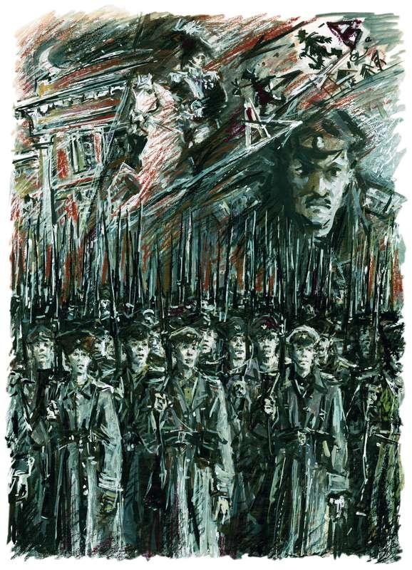 Иллюстрация к роману «Белая гвардия»