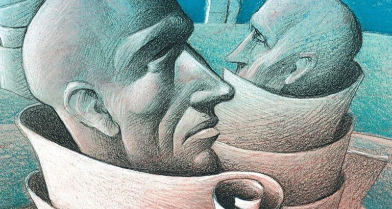 Иллюстрация к роману Е.И. Замятина «Мы»