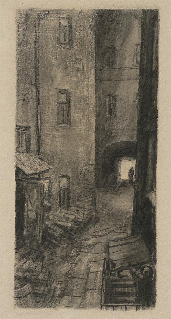 Иллюстрация к роману «Преступление и наказание». 1933–1936
