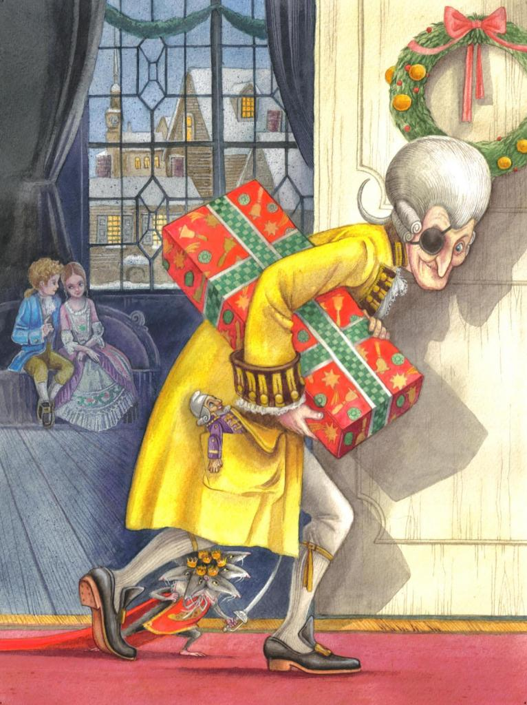 Иллюстрация к сказке «Щелкунчик и мышиный король»