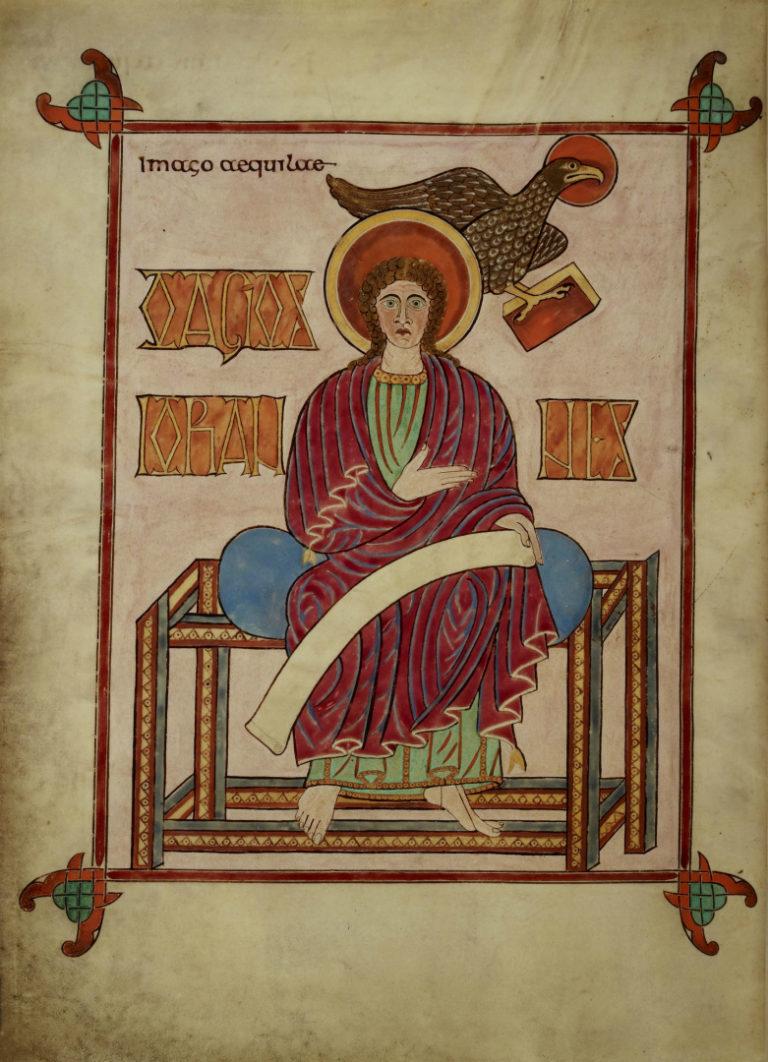 Иоанн Евангелист. Ок. 700 г.