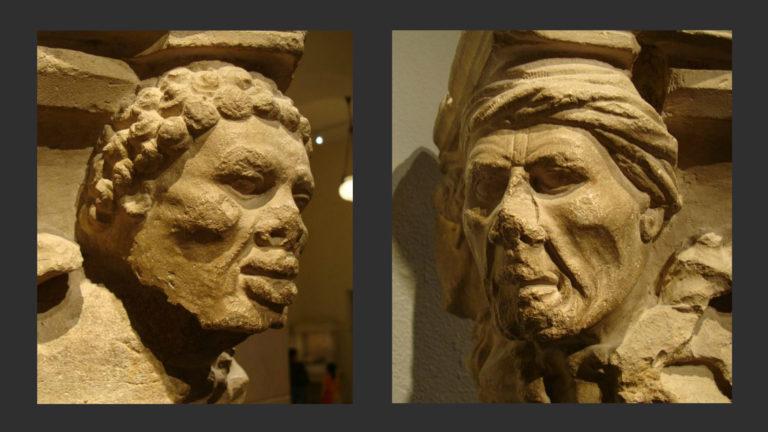 Капитель из Трои. 1225–1250