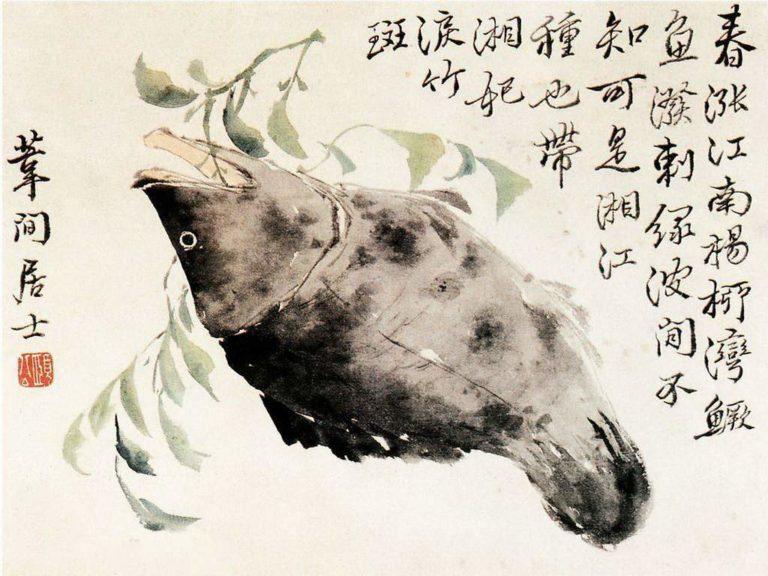 Китайский окунь. XVIII в.