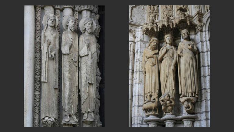 Королевский портал. 1150-е. Портал Иова. Ок. 1210