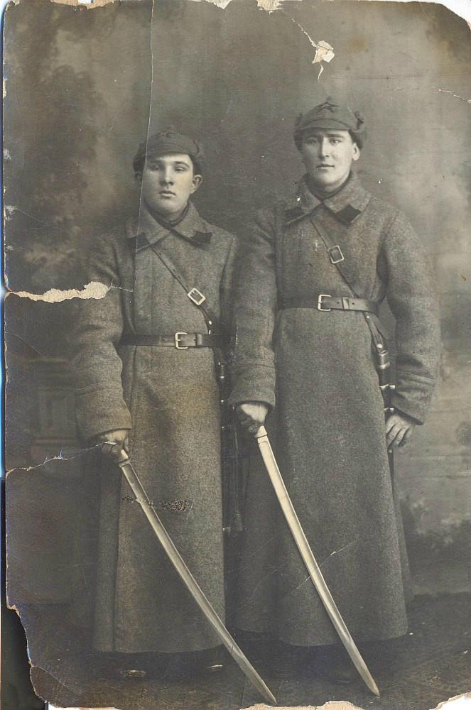 Красноармейцы. 1920-е