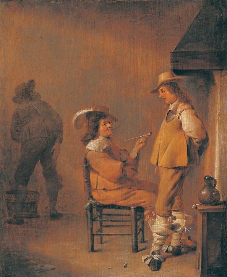 Курильщики. 1633–1635