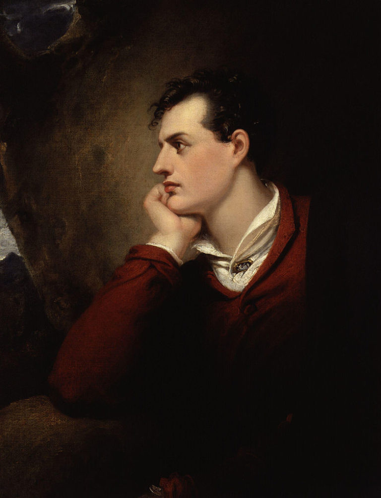 Лорд Гордон Байрон (англ. George Gordon Byron, 1788–1824). 1813