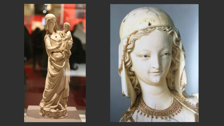 Мадонна с Младенцем из Сент-Шапель. Конец 1260-х гг.