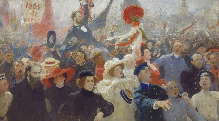 Манифестация 17 октября 1905 года. 1907–1911