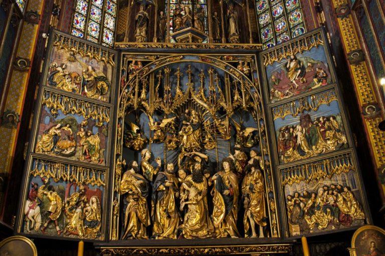 «Мариацкий алтарь». 1477–1489
