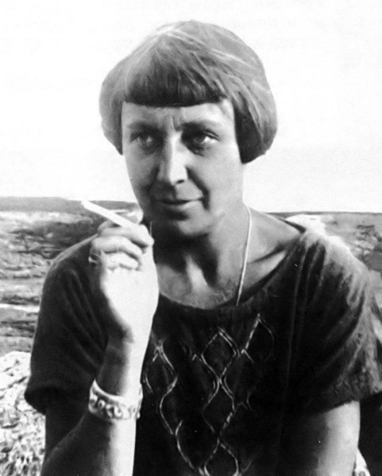 Марина Цветаева. 1928