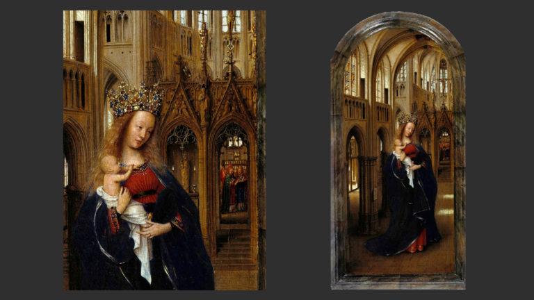 Мария в храме. 1438–1440