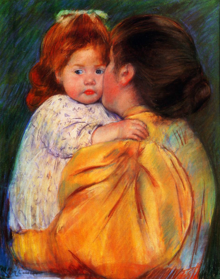 Материнский поцелуй. 1896