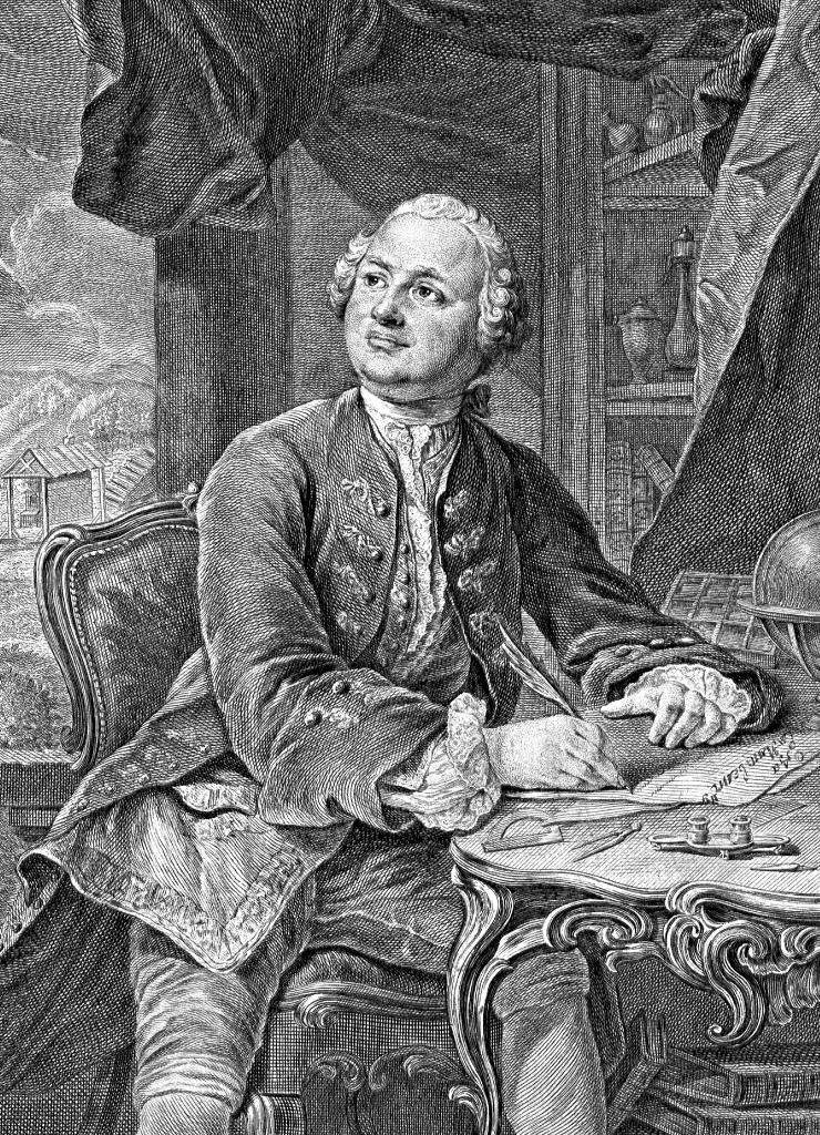 Михаил Васильевич Ломоносов (1711–1765). 1757