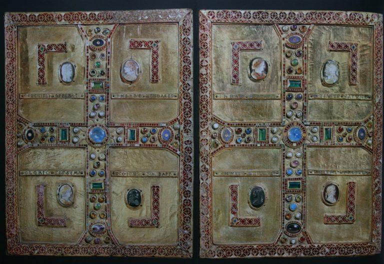 Оклад «Евангелия королевы Теоделинды». Рим, ок. 600 г.