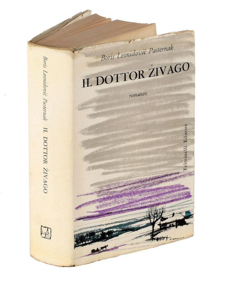 Первое издание романа Бориса Пастернака «Доктор Живаго» на итальянском языке. 1957