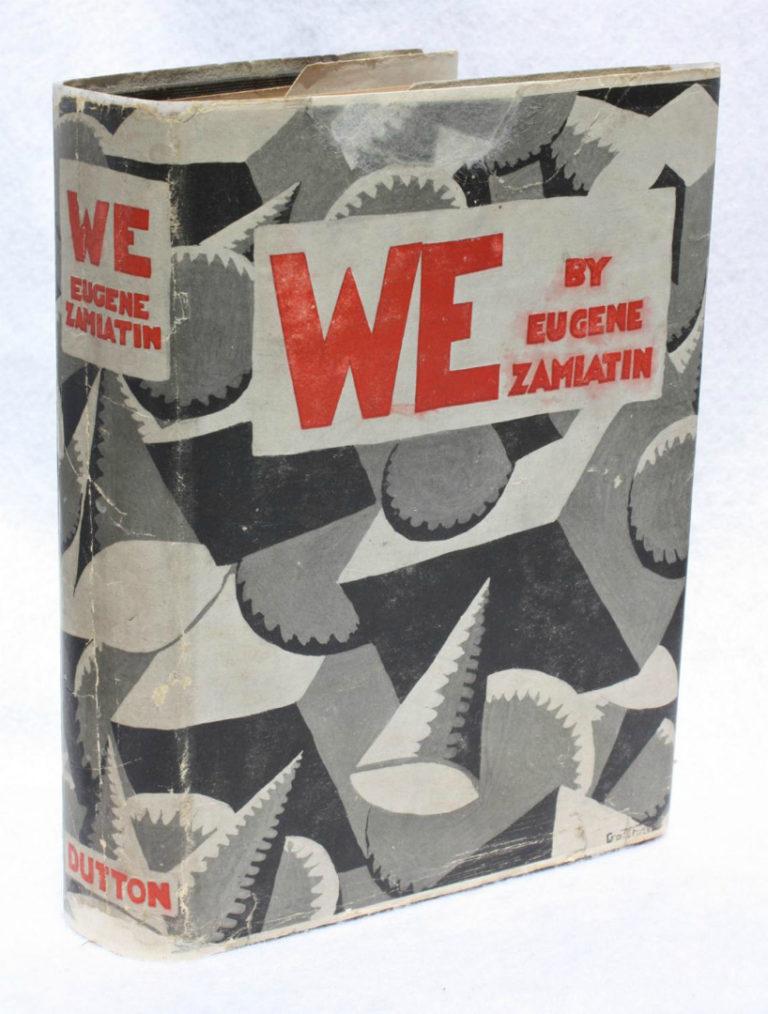 Первое издание романа «Мы». Нью-Йорк, 1924