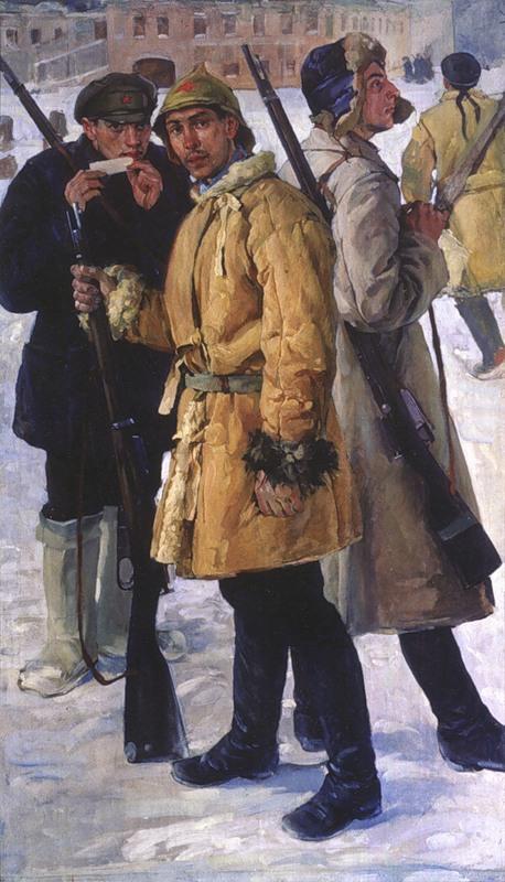 Первые красноармейцы. 1918 год. 1924