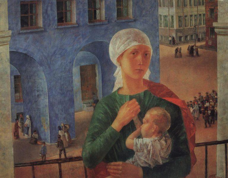 Петроградская Мадонна (1918 год в Петрограде). 1920
