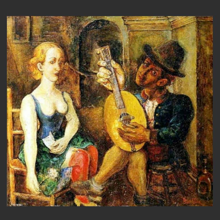 Поэт и Муза. 1907