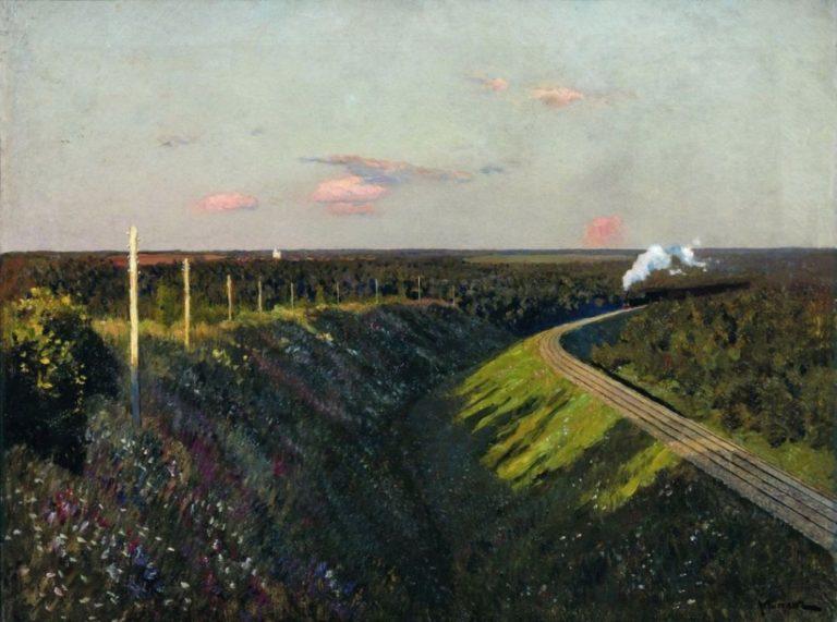 Поезд в пути. 1890-е