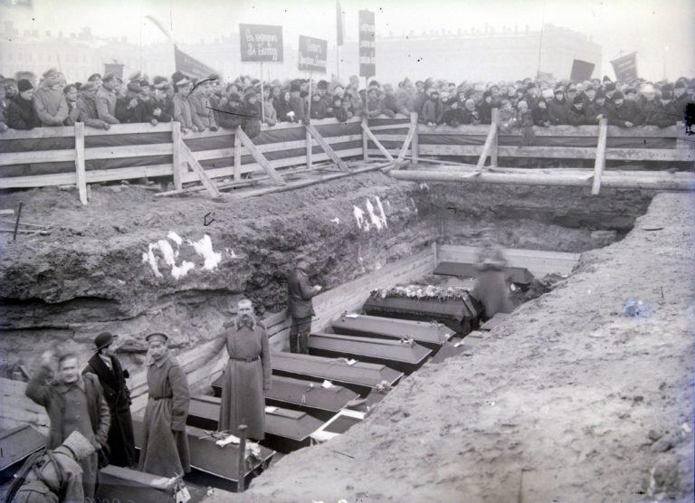 Похороны жертв революции. 23 марта 1917