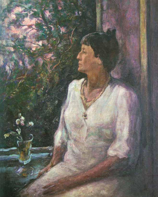 Портрет А.Ахматовой. 1939-40