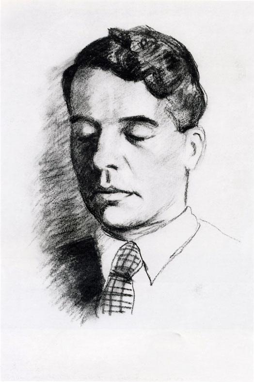 Портрет Александра Введенского. 1940