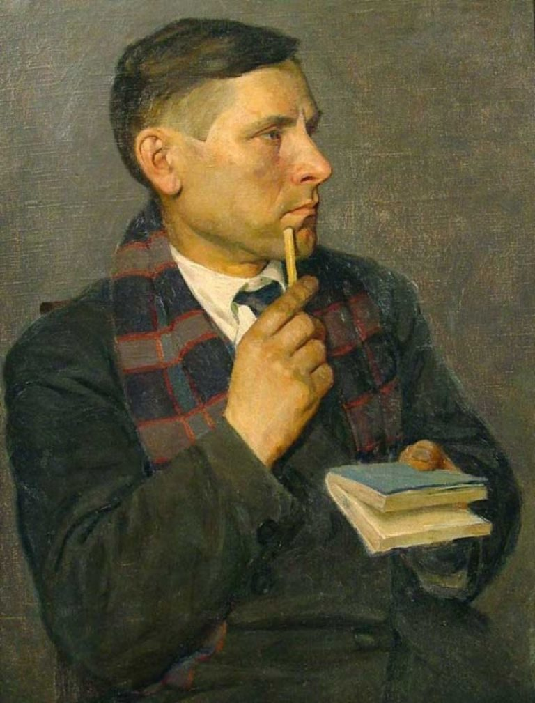Портрет Михаила Булгакова. 1928