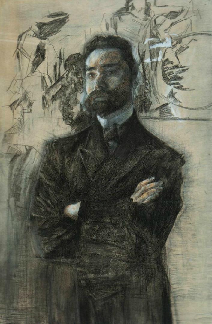 Портрет Валерия Брюсова. 1906
