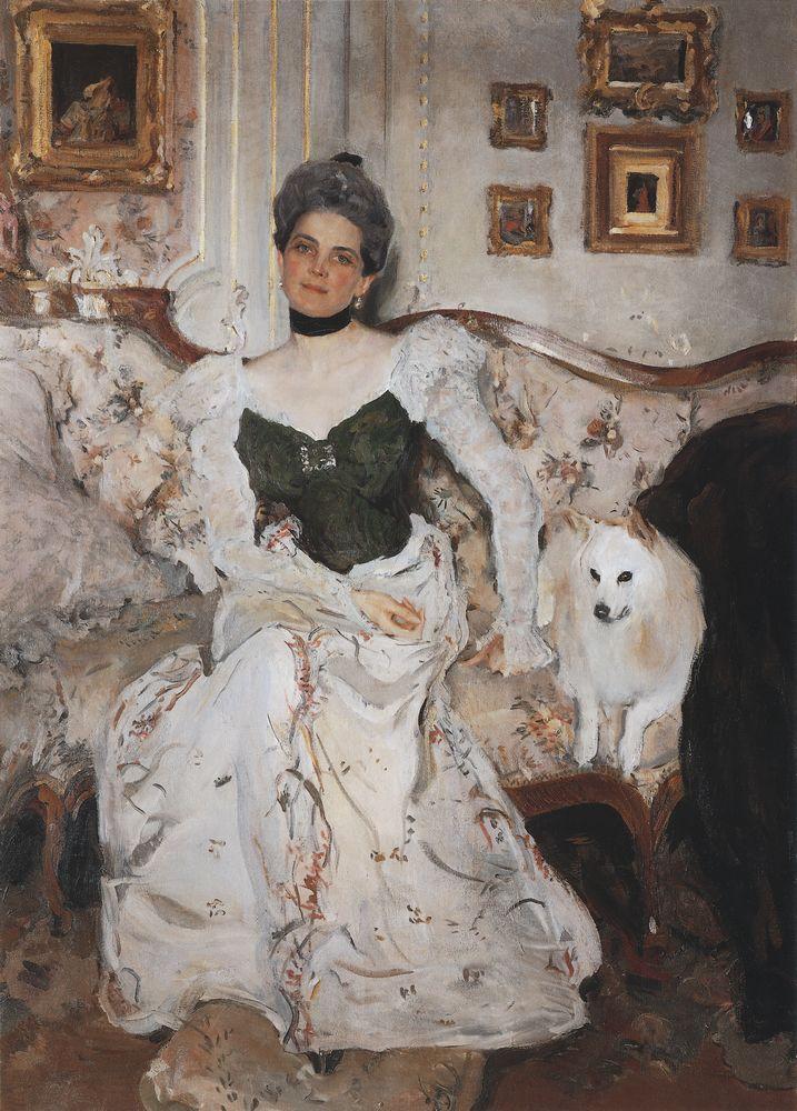 Портрет княгини Юсуповой. 1902