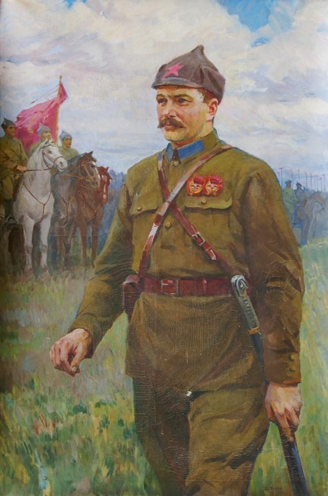 Портрет командира Красной Армии. 1977