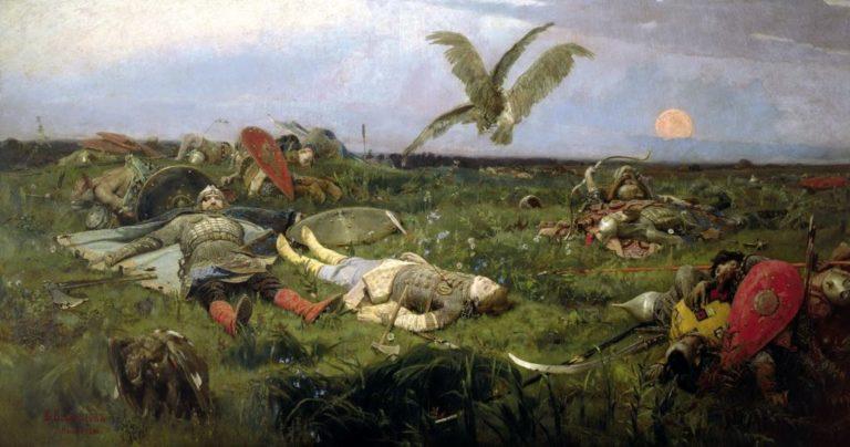 После побоища Игоря Святославича с половцами. 1878