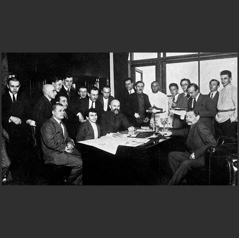 Редакция газеты «Известия». 1928