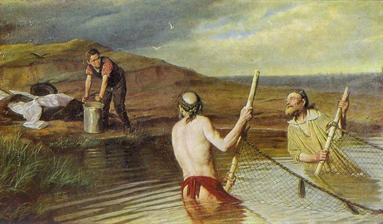 Рыбаки. 1879