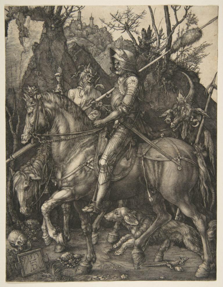Рыцарь, Смерть и Дьявол. 1513