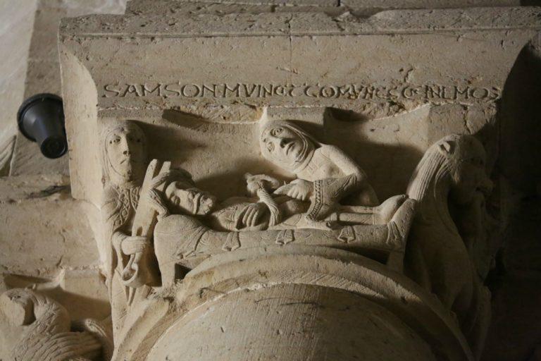 Самсон и Далила. XII в.