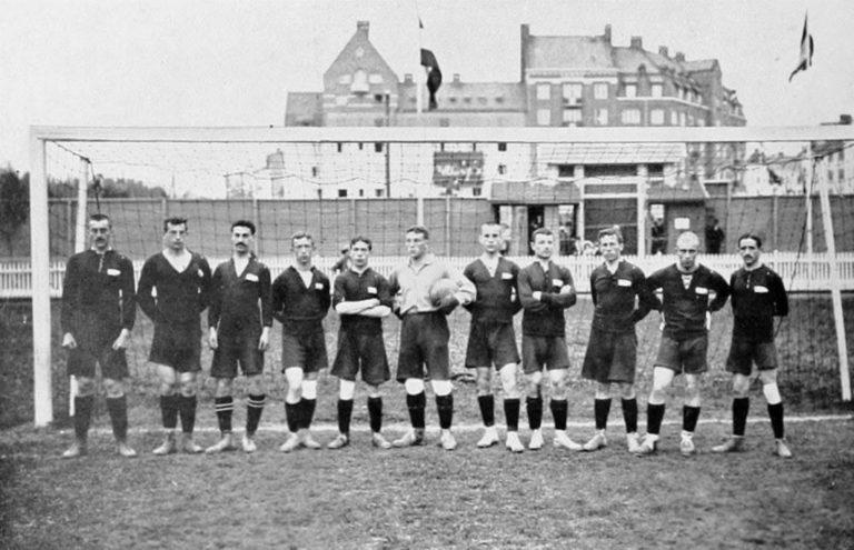 Сборная России по футболу на Олимпийских играх. 1912