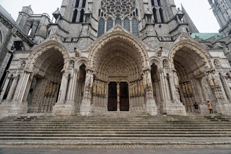 Северный портал Шартрского собора Нотр-Дам. Ок. 1210 г.