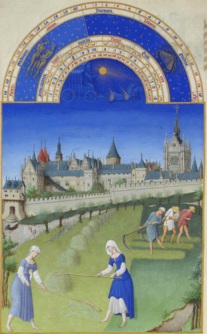 Сите и Сент-Шапель. 1412–1416