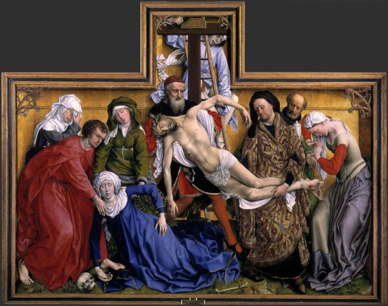 Снятие с креста. Ок. 1435