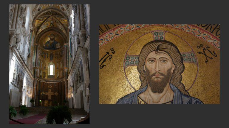 Собор Чефалу. Сер. XII в. Сицилия