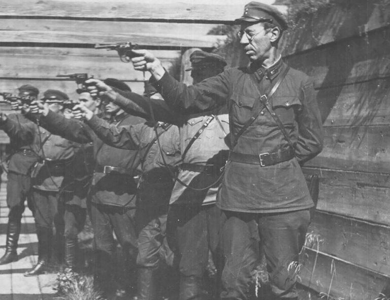 Сотрудники НКВД БССР. 1930-е