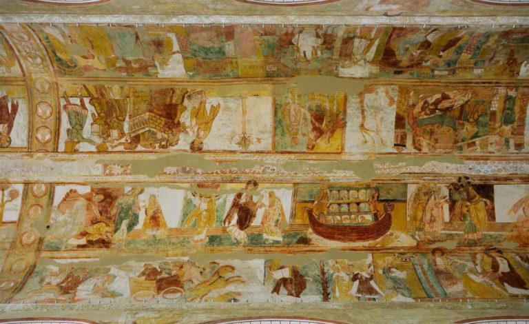 Сцены Ветхого и Нового заветов. Ок. 1100 г.