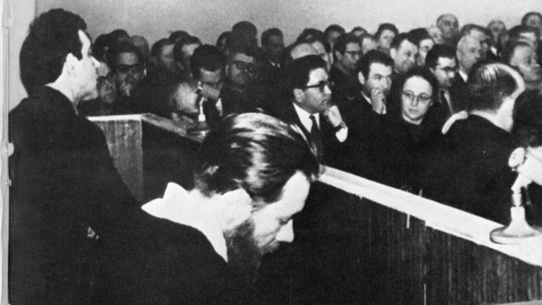 Суд над А. Синявским и Ю. Даниэлем. 1966