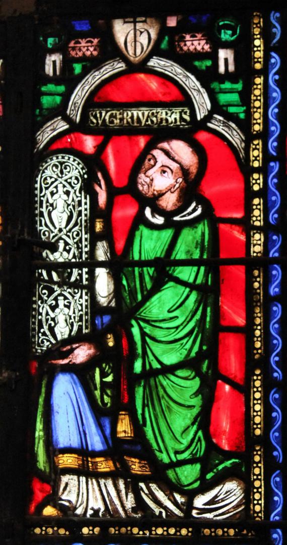 Сугерий (фр. Suger, ок. 1081–1151). XIII в.